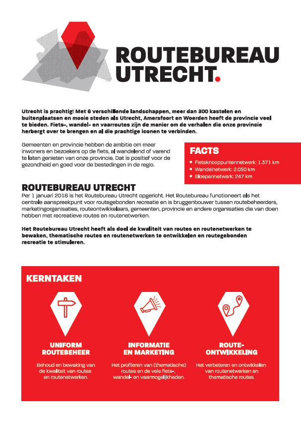 Factsheet Routebureau Utrecht