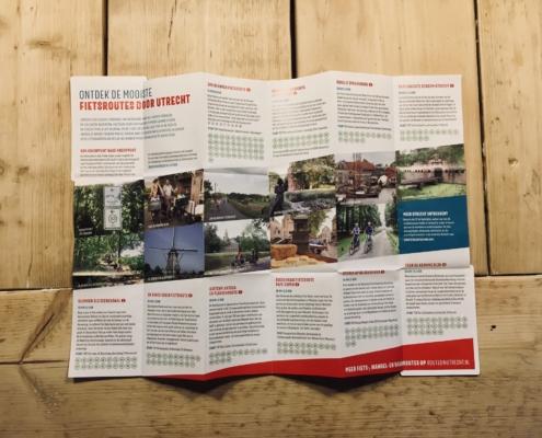 Routecard fietsroutes RoutesinUtrecht.nl
