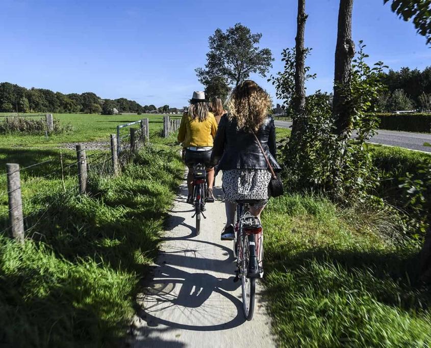 Nieuwe fietsroutes van de stad Utrecht naar NP Utrechtse Heuvelrug