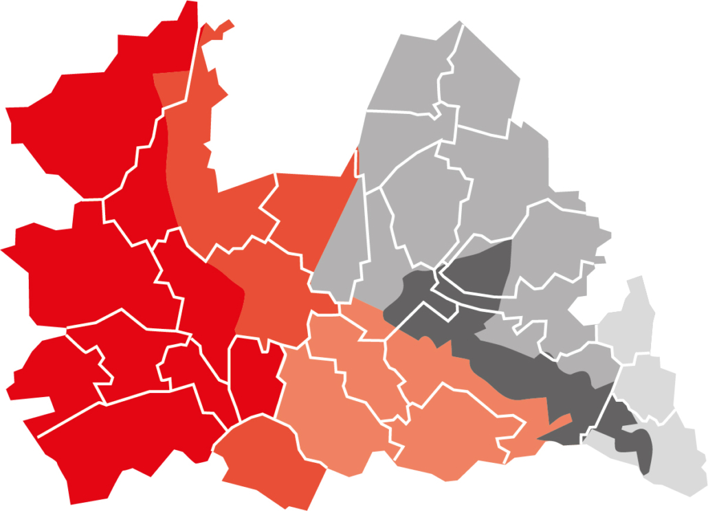 werkgebied verkenning wandelnetwerk Utrecht-oost
