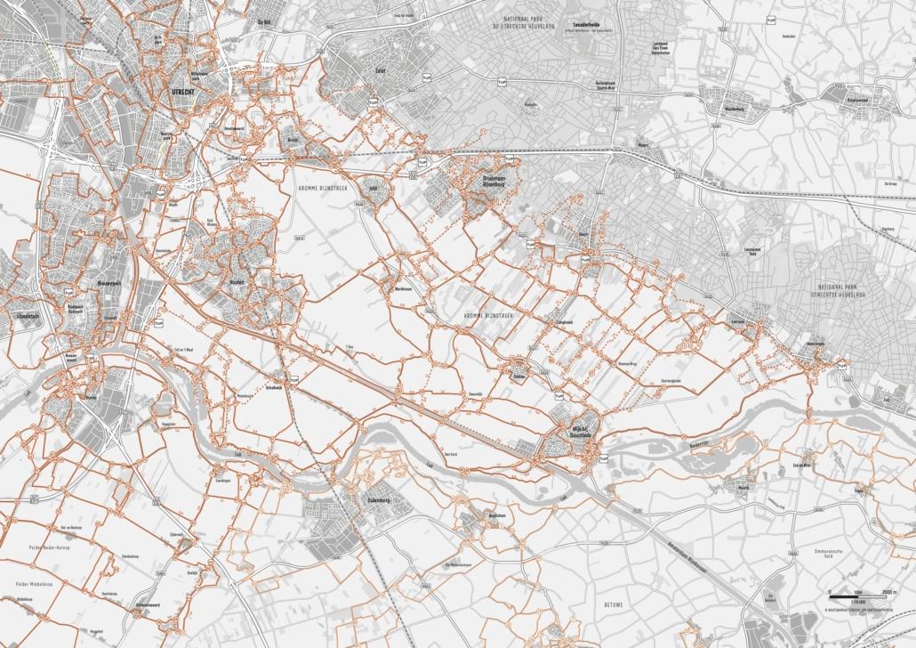 Wandelroutenetwerk Kromme Rijnstreek