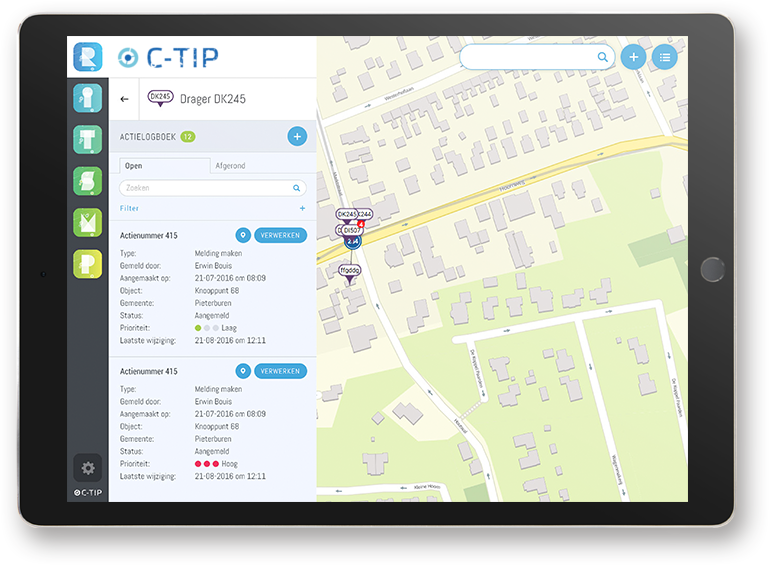 C-TIP Routebeheer