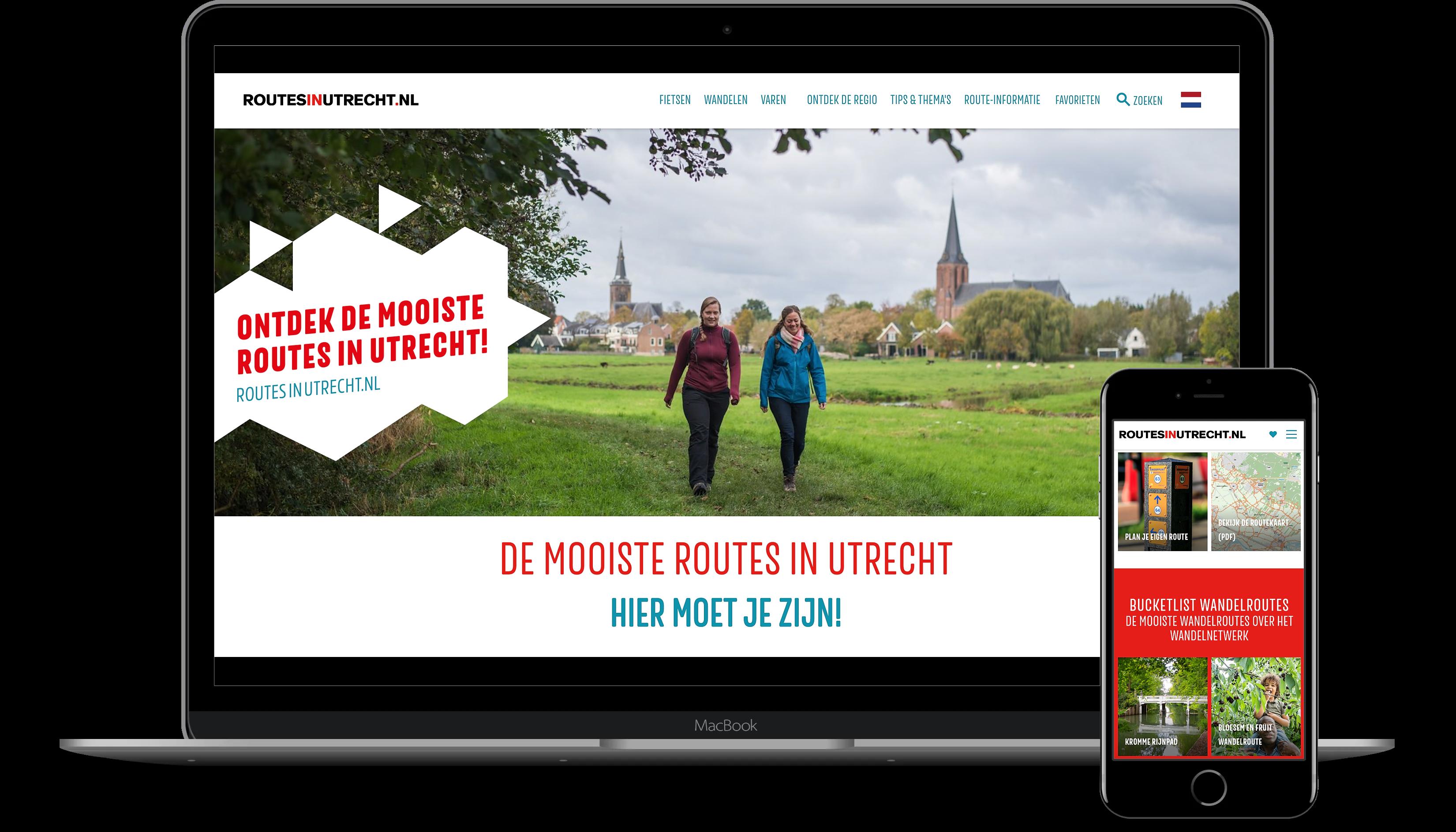 Het platform RoutesinUtrecht.nl neemt een centrale plek in voor de informatievoorziening over routes en routenetwerken
