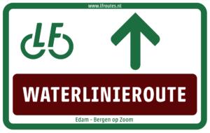 LF Waterlinieroute bewegwijzering