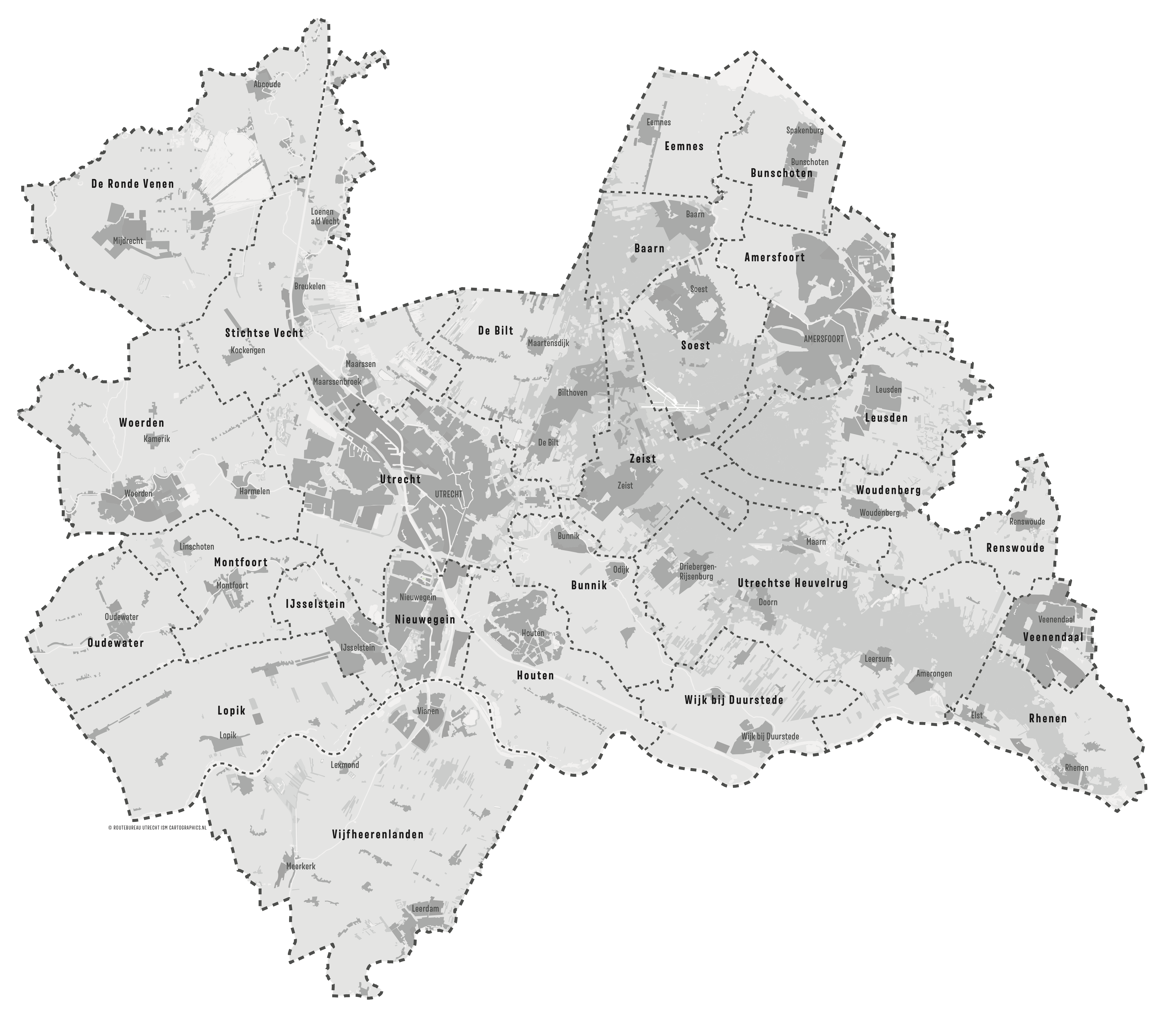 Provincie Utrecht en gemeenten