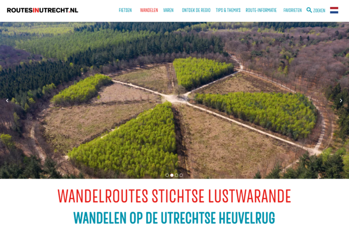 Themapagina Stichtse Lustwarande op RoutesinUtrecht.nl
