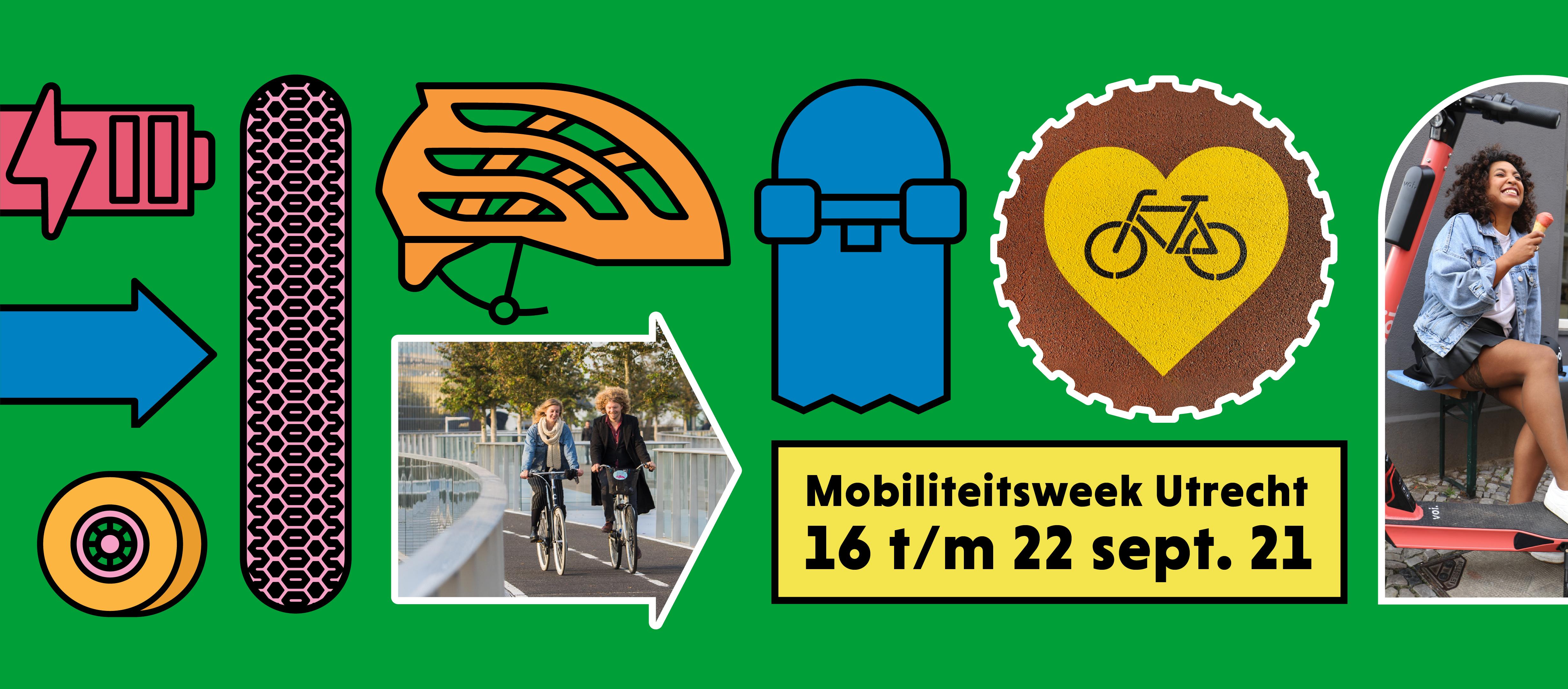 mobiliteitsweek utrecht 2021 banner let's go, regio